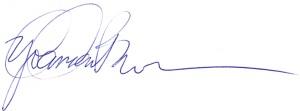 yolanda's signature